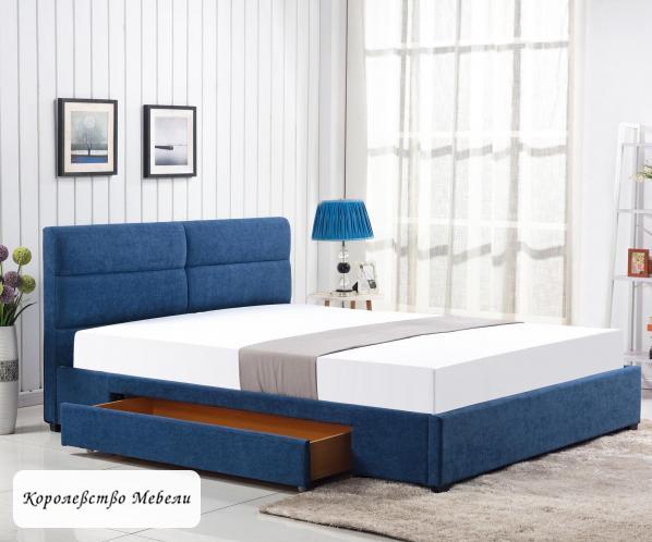 Кровать двуспальная MERIDA (160*200) с ящиками