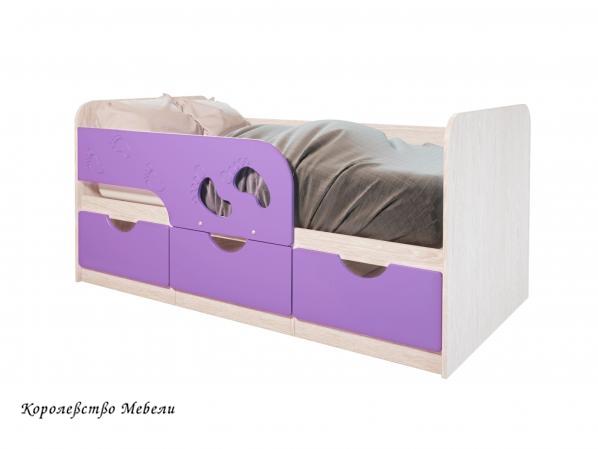Кровать Минима Лего с ящиками  (80*160)