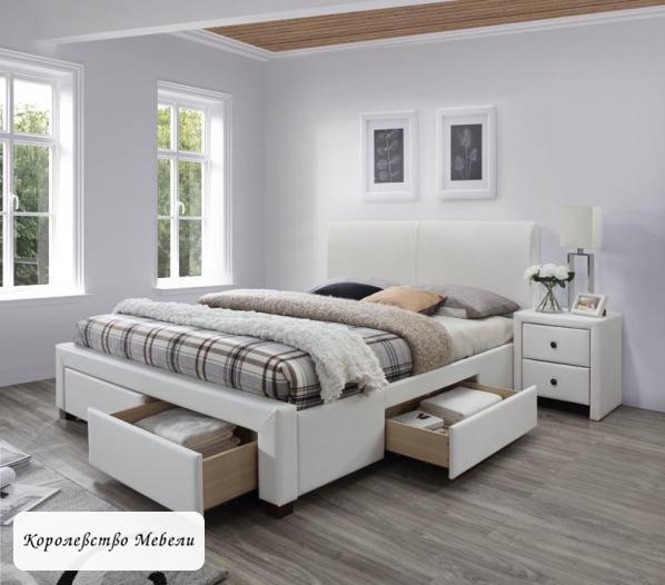 Кровать Modena 2 (160*200) с ящиками