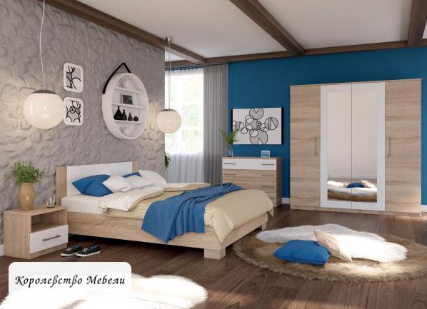 Кровать Аврора, с основанием