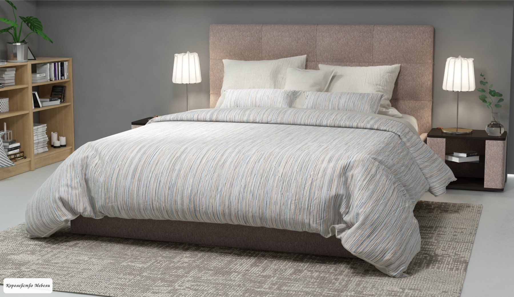 Кровать Вена , с подъемным механизмом