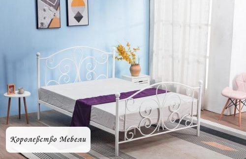 Кровать Panama (120*200), белая