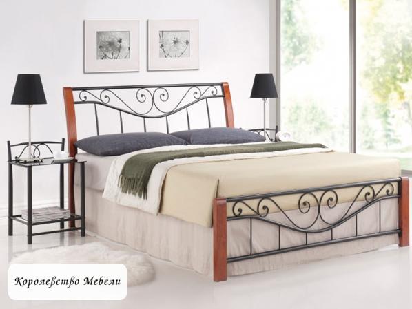 Кровать PARMA( черешня античная),с основанием