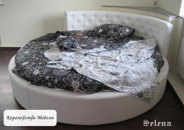 Круглая кровать Селена.
