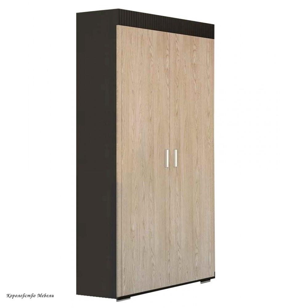 Шкаф 2 дв. Марк (венге / дуб сонома)