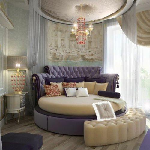 Круглая кровать Фелиция.