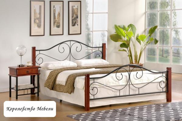 Кровать Violetta, античная черешня